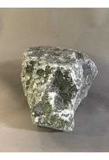 Stone 24lb Indian Gray-Green Soapstone 12x8x5 #15367