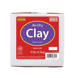 Amaco Amaco Terra Cotta 10 lb. Air Dry Clay 10 lb.
