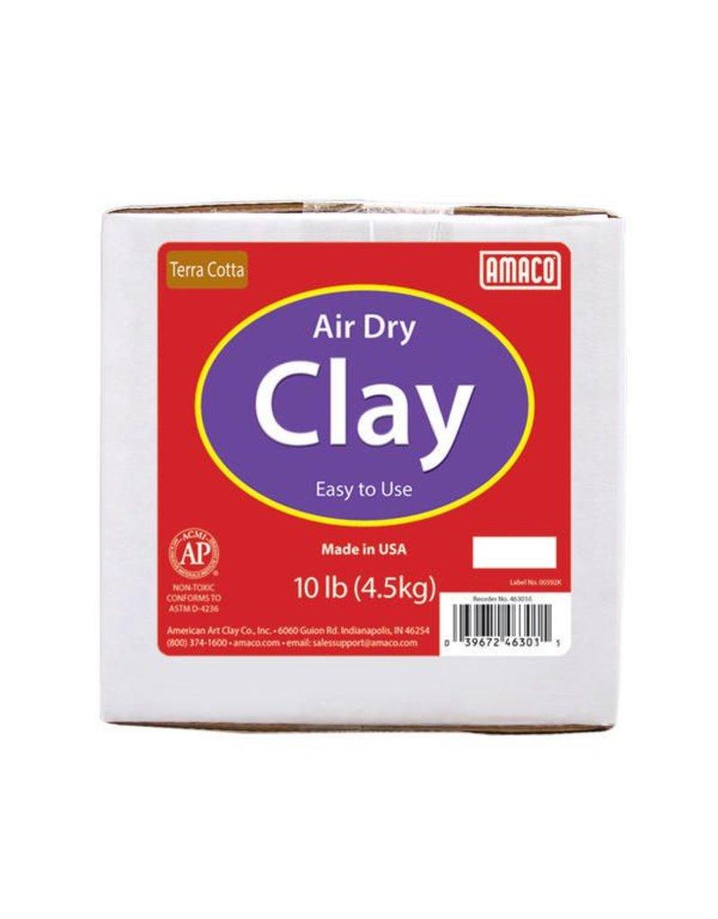 Amaco Amaco Terra Cotta 10 lb. Air Dry Clay 10 lb.