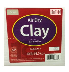 Amaco, Inc. Amaco Gray Air Dry Clay 10 lb.