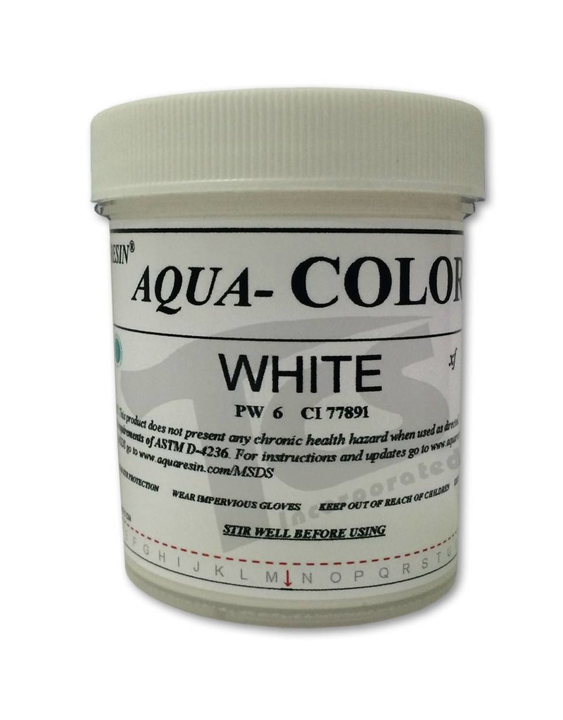 Aquaresin Aqua-Color White 3.5oz