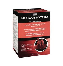Amaco, Inc. Mexican Pottery Self-Hardening Clay 5lbs