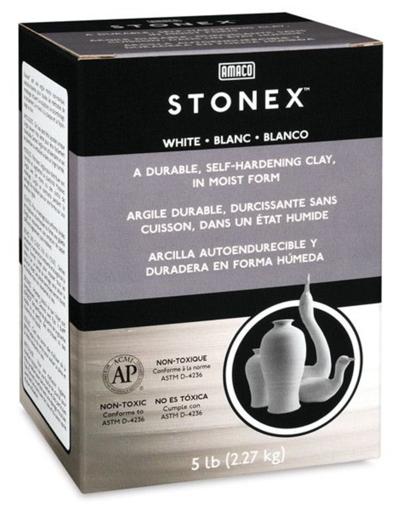 Amaco, Inc. Stonex Self-Hardening Clay 5lbs