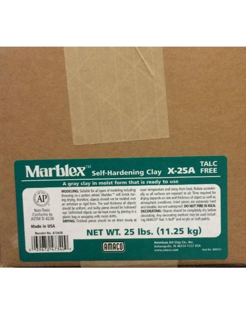 Amaco, Inc. Marblex Self-Hardening Clay 25lbs