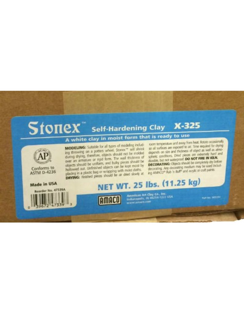 Amaco, Inc. Stonex Self-Hardening Clay 25lbs
