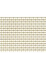 Amaco Decorative Brass Mesh 16''x20'' 2 Sheets Wireform