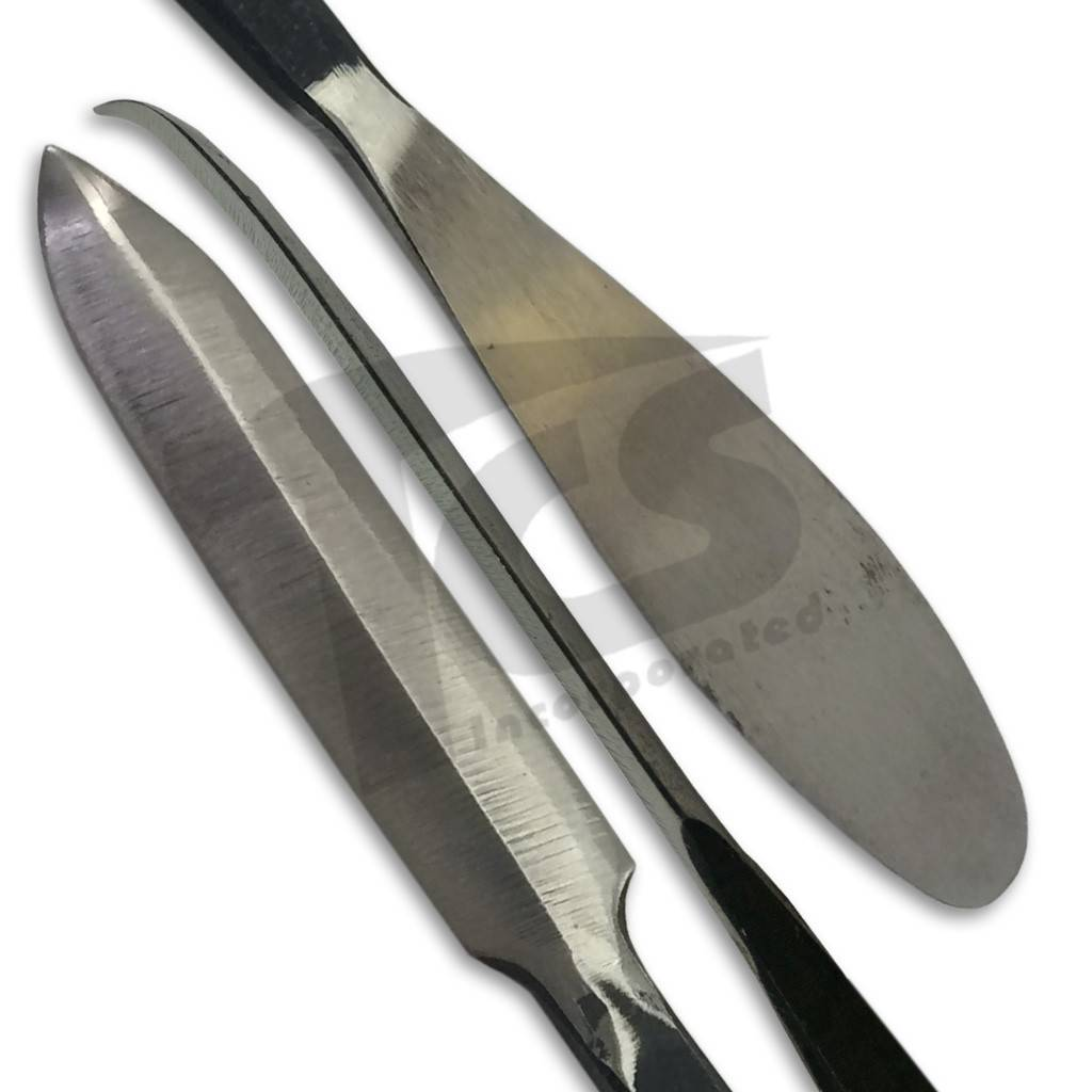 Steel Spatula w/ Curved End #187