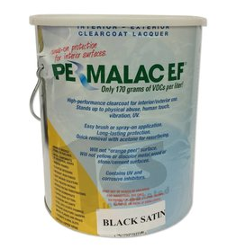 Permalac Permalac EF Satin Black Transparent Gallon