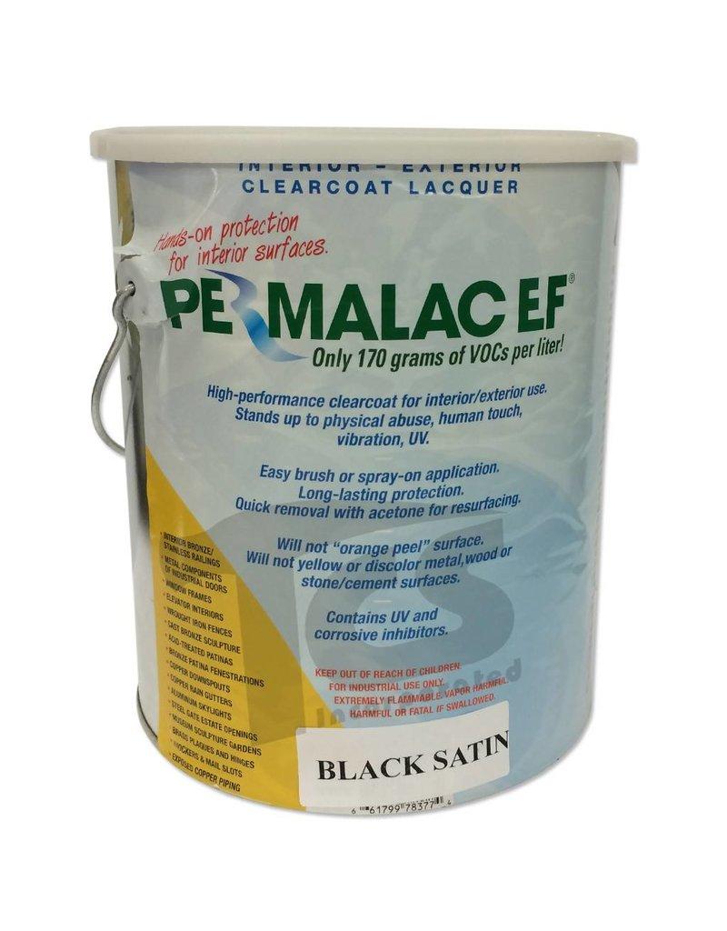 Permalac Permalac EF Satin Black Transparent Gallon