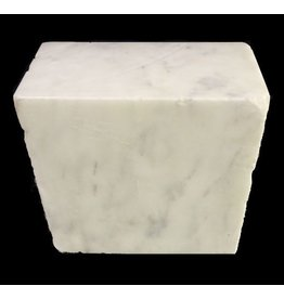 Mother Nature Stone 110lb Danby White Marble 13x13x7 #431001