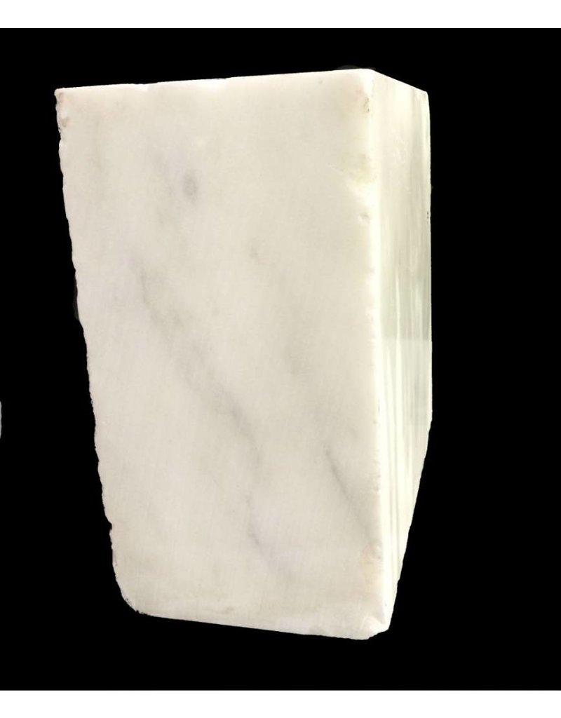 Stone 110lb Danby White Marble 13x13x7 #431001
