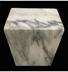 Mother Nature Stone 200lb Danby White Veined Marble 20x13x8 #431003