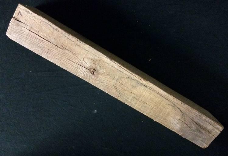 """Wood Fir Block 4""""x3.5""""x24"""" #021003"""