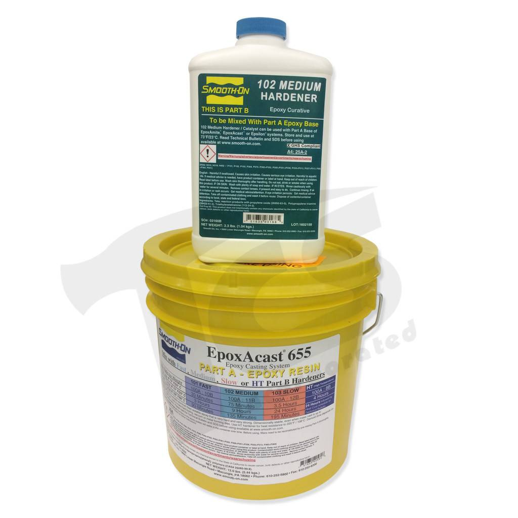 Smooth-On EpoxAcast 655 Medium Gallon Kit