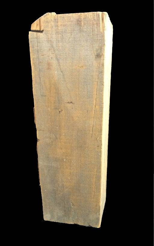 "Wood Soft Maple Log 24""x7.5""x5""H #061004"