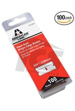 Steel Back Single Edge Razor Blades (100pack)