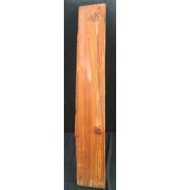"Wood Yellow Pine Slab 38""x6""x1"" #171001"