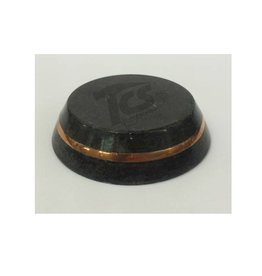 Black Stone Base 3in With Copper Band