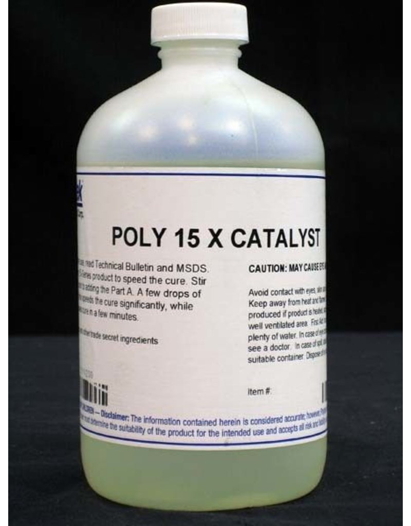 Polytek Development Poly 15 Part X Accelerator 1lb