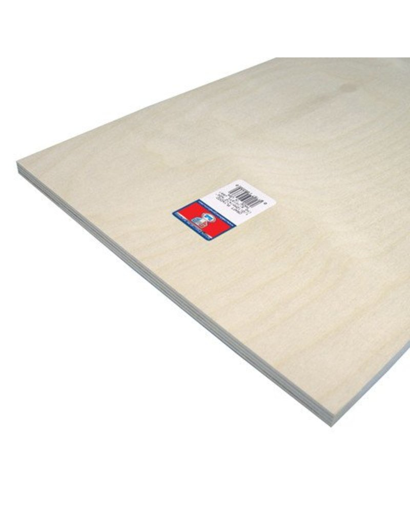 Craft Plywood - 1/2 x 12 x 24 inches