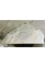 Stone 997lb Carrara Bianco blue/gray 33x33x41 #511001