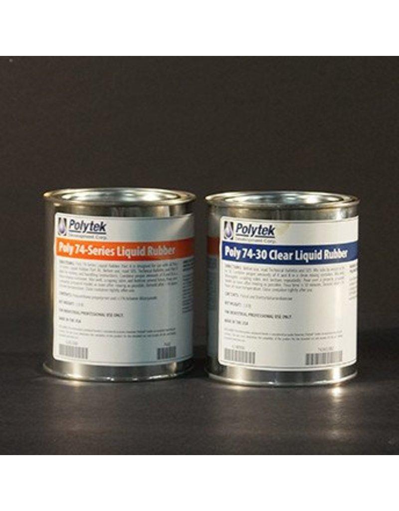Polytek Development Poly 74-30 Clear Trial Kit (4lb)