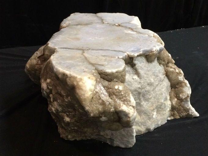 Stone 71lb Blue Myst Alabaster 15x13x6 #171005