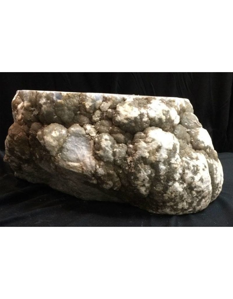 Mother Nature Stone 73lb Blue Myst Alabaster 14x11x6 #171006