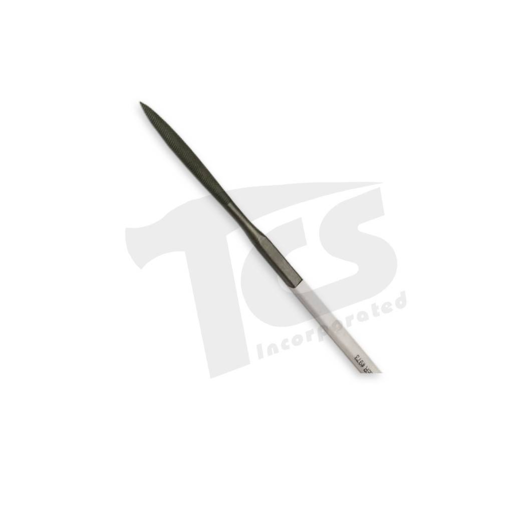 "Swiss/English Steel Riffler #973 6"""