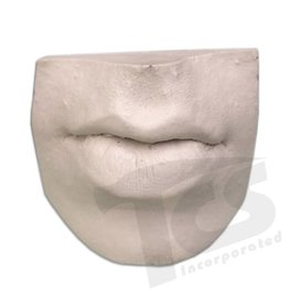 Resin Mouth #3 (Pursed Lips)