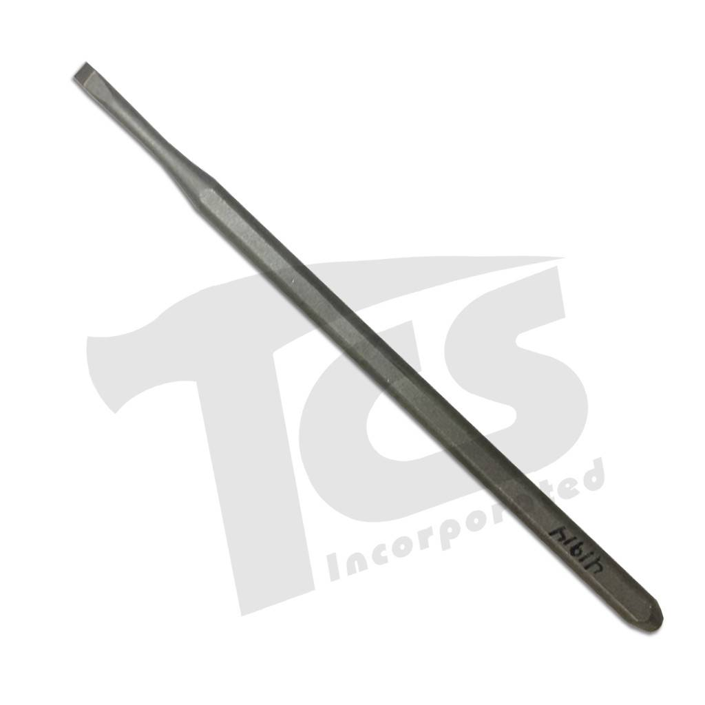 Trow & Holden Carbide Hand Detail Flat 3/16''