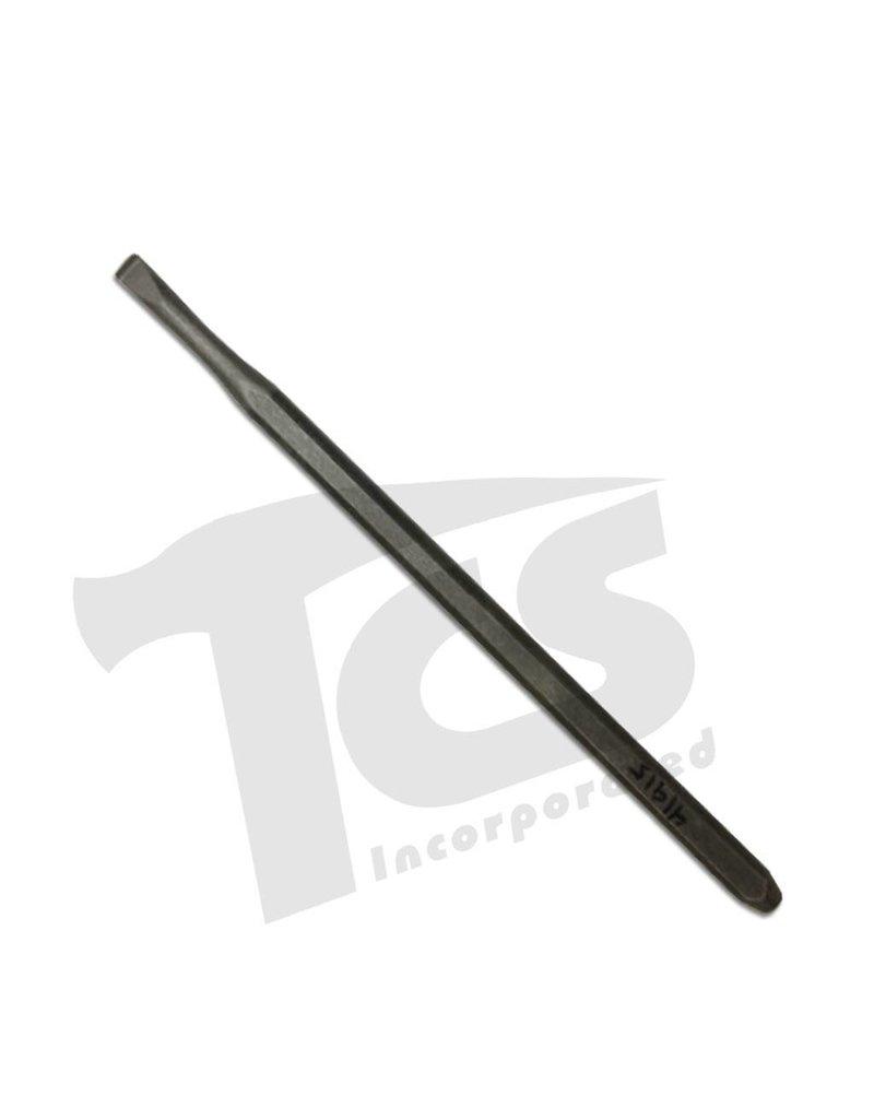 Trow & Holden Carbide Hand Detail Flat 1/4''