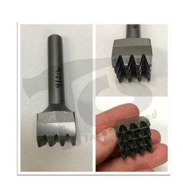 Trow & Holden Carbide Pneumatic 16 Tooth Bushing 1'' x 1/2'' Shank