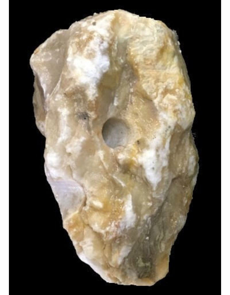 Mother Nature Stone 8lb New Gold Alabaster 9x6x5 #291005