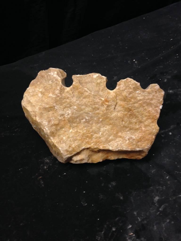 Stone 8lb New Gold Alabaster 9x6x4  #291020