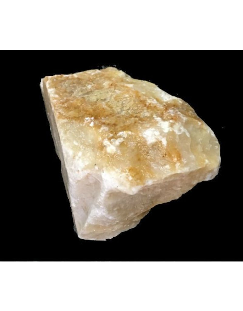 Mother Nature Stone 4lb New Gold Alabaster 6x4x3 #291032