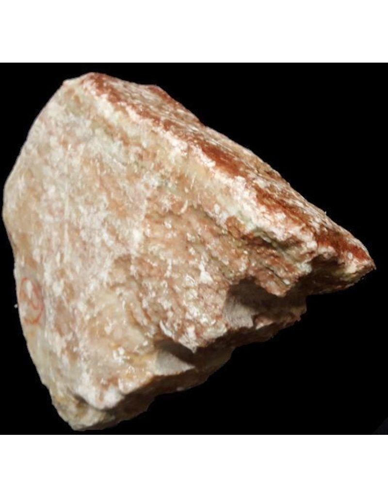 Stone 9lb Red Raspberry Alabaster 7x7x2 #161044
