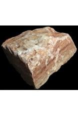 Stone 11lbs Red Raspberry Alabaster 8x8x3 #161043