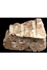 Stone 11lbs Red Raspberry Alabaster 9x6x2 #161045