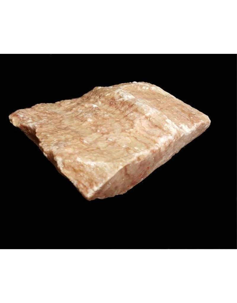 Mother Nature Stone 6lbs Red Raspberry Alabaster 6x6x3 #161035