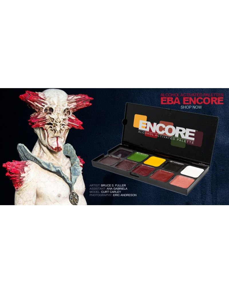 European Body Art Encore Alcohol Palette - Blood Edition