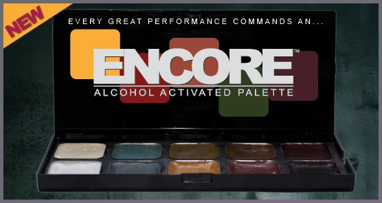 European Body Art Encore Alcohol Palette - Undead Edition