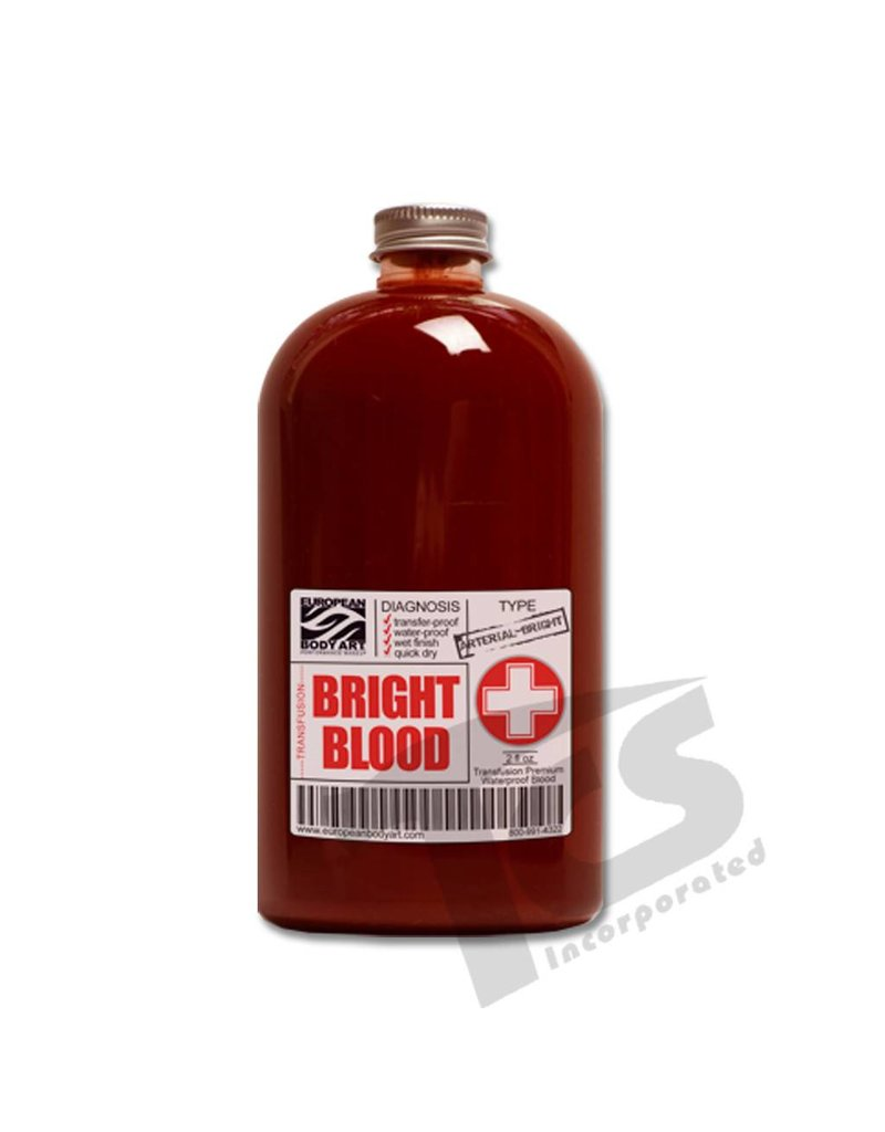 European Body Art Transfusion Blood Bright, 2oz