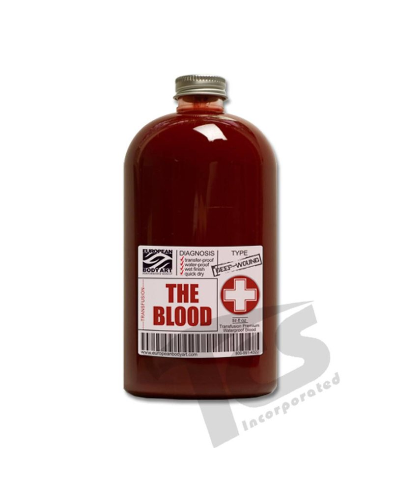 European Body Art Transfusion Blood, 16oz