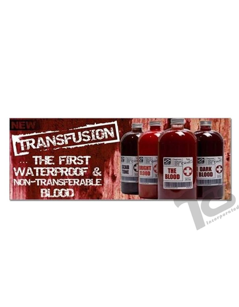 European Body Art Transfusion Blood Scab Tone, 16oz