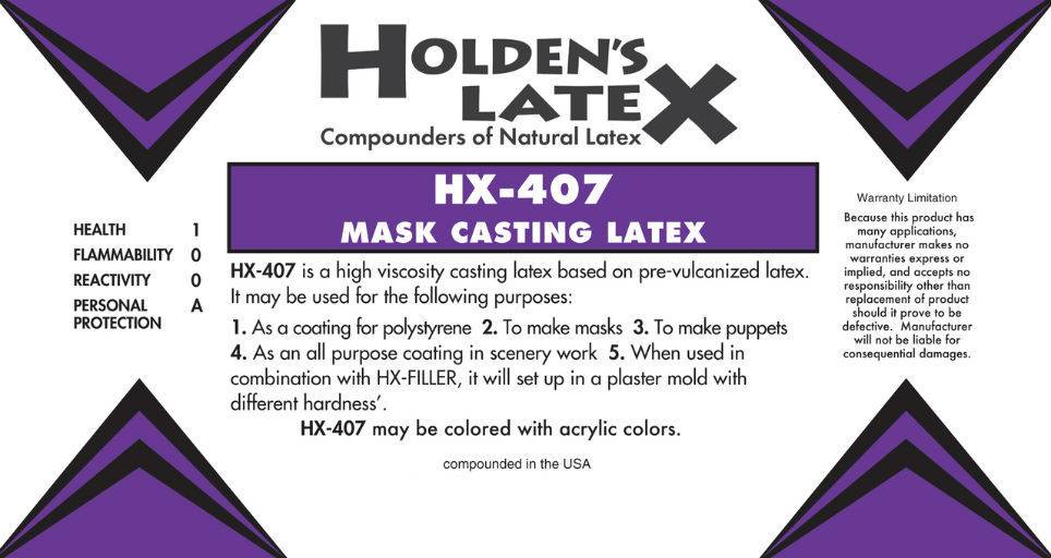 Holden's Latex Latex HX-407 5 Gallon