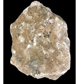 Mother Nature Stone 7lb White Translucent Alabaster w/ Dark Crust 8x5x2 #101038