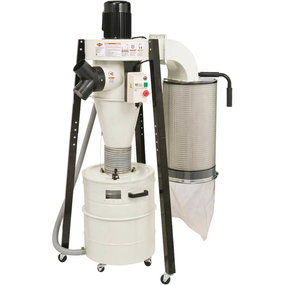 1-1/2 HP Portable Cyclone Dust Collector