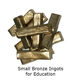 Small Bronze Ingots (10pc)
