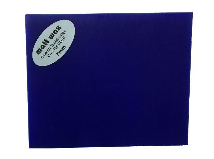 Du-Matt Wax Tablet Blue (190mmx165mmx7mm) 2 pack